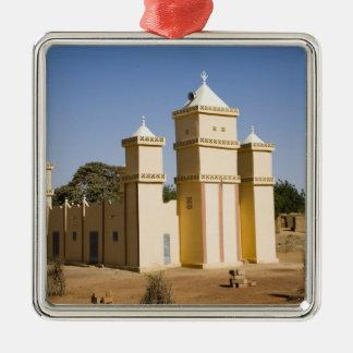 Mali, Bamako. Mosque, Bamako-Djenne Road Metal Ornament