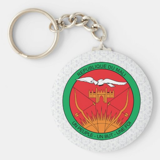 Mali Coat of Arms detail Key Chain