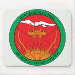 Mali Coat of Arms detail Mousepads