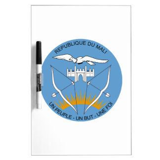 Mali Coat of Arms Dry-Erase Board