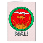 Mali Coat of Arms Greeting Card
