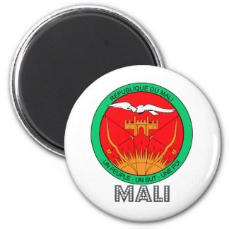 Mali Coat of Arms Magnet