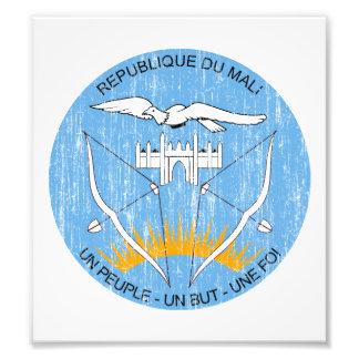 Mali Coat Of Arms Art Photo