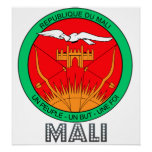 Mali Coat of Arms Posters