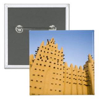 Mali, Djenne. Grand Mosque Button