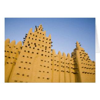 Mali, Djenne. Grand Mosque Card