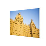 Mali, Djenne. Grand Mosque Gallery Wrapped Canvas