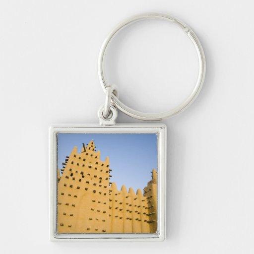 Mali, Djenne. Grand Mosque Keychain