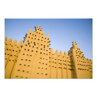 Mali Djenne Grand Mosque Art Photo