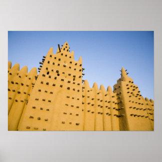 Mali, Djenne. Grand Mosque Poster