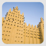 Mali, Djenne. Grand Mosque Stickers