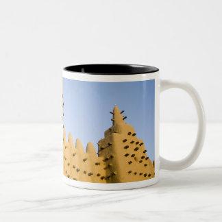Mali, Djenne. Grand Mosque Two-Tone Coffee Mug