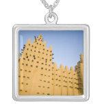 Malí, Djenne. Mezquita magnífica Colgante Cuadrado