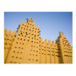 Malí, Djenne. Mezquita magnífica Tarjeta Postal