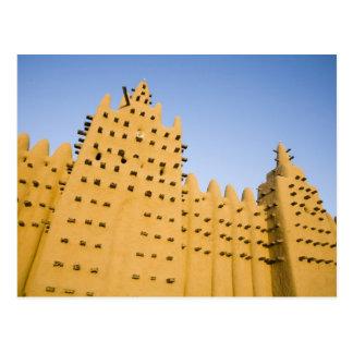 Malí, Djenne. Mezquita magnífica Tarjetas Postales