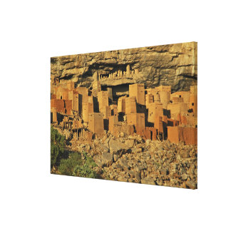 MALI, Dogon Lands. Traditional Tellem malian Canvas Print