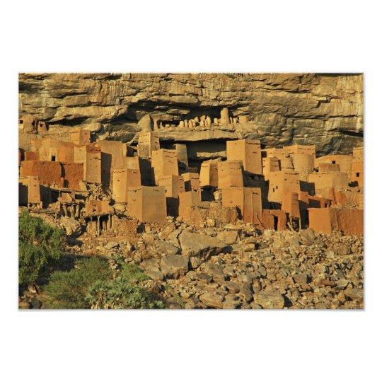 MALI, Dogon Lands. Traditional Tellem malian Photo Print
