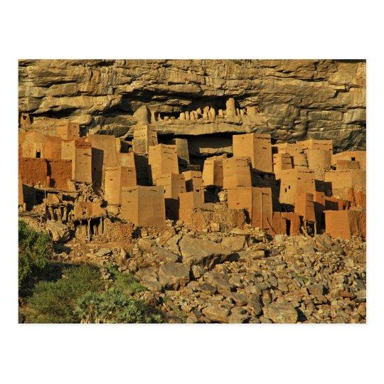 MALI, Dogon Lands. Traditional Tellem malian Postcard