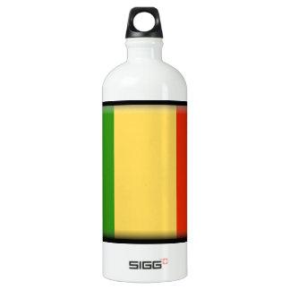 Mali Flag Aluminum Water Bottle