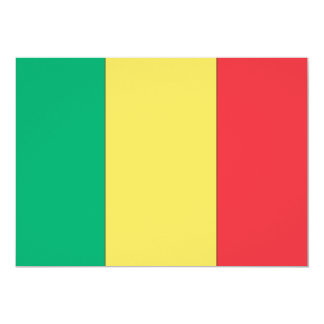 Mali Flag Card