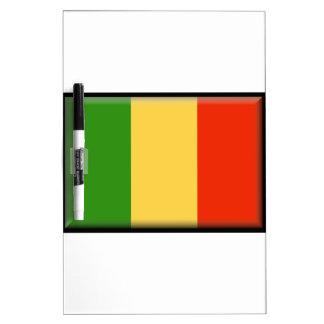 Mali Flag Dry Erase Whiteboard