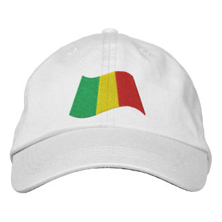 Mali Flag Embroidered Hat