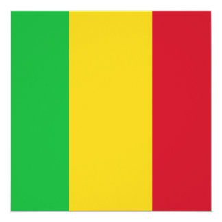 Mali Flag Invitation