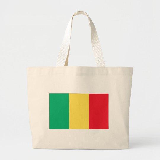 Mali Flag Large Tote Bag