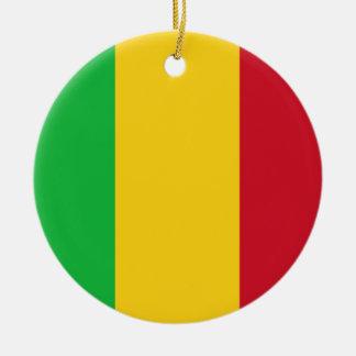 Mali Flag Ornament