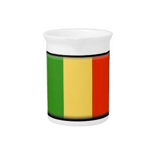 Mali Flag Drink Pitcher