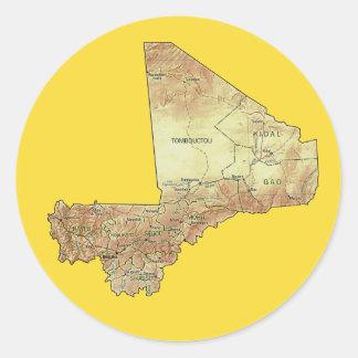 Mali Map Sticker