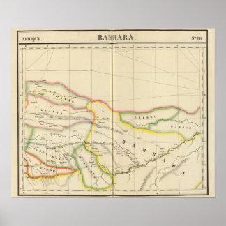 Malí Mauritania y Burkina, África Impresiones