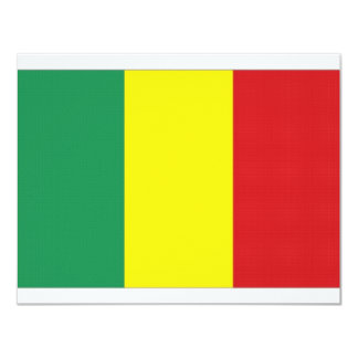 Mali National Flag Card