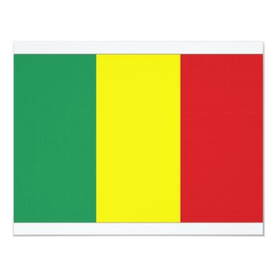 Mali National Flag Card