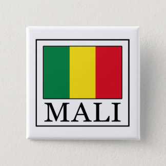Mali Pinback Button