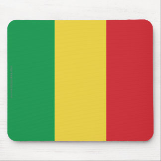 Mali Plain Flag Mouse Pad