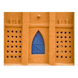 Malí, Segou. Edificio de ladrillo tradicional del Tarjeta Postal