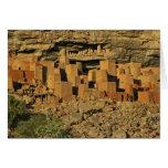 MALÍ, tierras de Dogon. Maliano tradicional de Tel Tarjeta De Felicitación