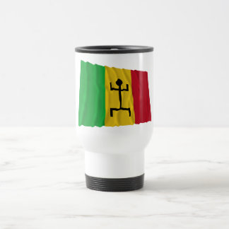Mali Waving Flag (1959-1961) 15 Oz Stainless Steel Travel Mug