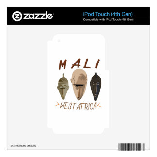 Mali Wesr Africa Skin For iPod Touch 4G