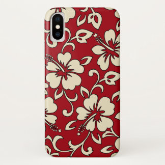 Malia Hibiscus Hawaiian Floral iPhone X Case