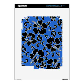 Malia Hibiscus Hawaiian iPad 3 or Tablet Skin Decal For iPad 3