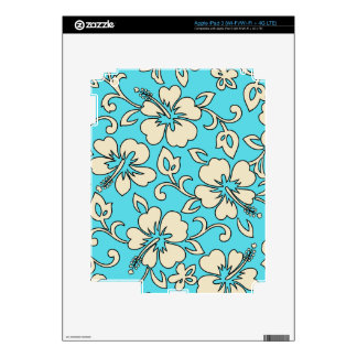 Malia Hibiscus Hawaiian iPad 3 or Tablet Skin Skin For iPad 3