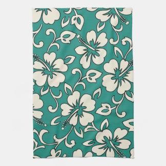 Malia Hibiscus Hawaiian Kitchen Towel