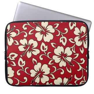 Malia Hibiscus Hawaiian Neoprene Wetsuit Laptop Sleeve