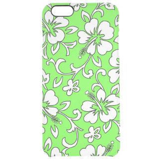 Malia Hibiscus Hawaiian Pareau Print Uncommon Clearly™ Deflector iPhone 6 Plus Case