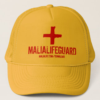 Malia Life Guard - Trucker Hat - Yellow