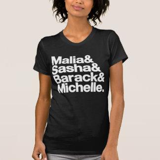 Malia & Sasha & Barack & Michelle T Shirt