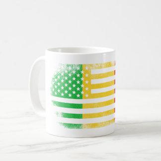 Malian American Flag   Mali and USA Design Coffee Mug