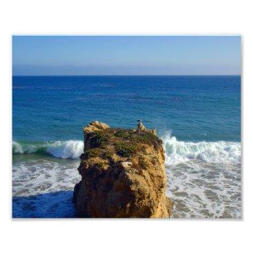 Beach Themed Malibu Beach 10x 8 Photo Print